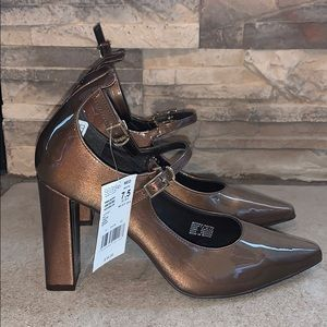 Carlo Rossetti thick heel shoes